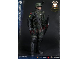 DAM Toys 1/6 78053 PAP Snow Leopard Commando Unit Team Leader_ Box Set _DM104Z