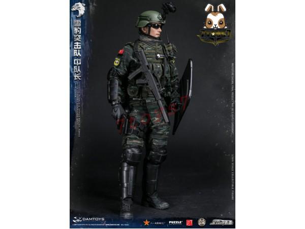 DAM Toys 1/6 78053 PAP Snow Leopard Commando Unit Team Leader_ Box Set _DM104Z