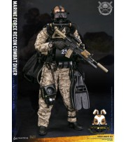 [Pre-order deposit] DAM Toys 1/6 78056 Marine Force Recon Combat Diver Desert Marpat Ver_ Box Set _DM111Y