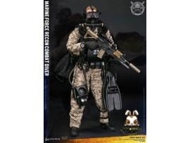 DAM Toys 1/6 78056 Marine Force Recon Combat Diver Desert Marpat Ver_ Box Set _DM111Y