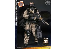 [Pre-order] DAM Toys 1/6 78056 Marine Force Recon Combat Diver Desert Marpat Ver_ Box Set _DM111Y