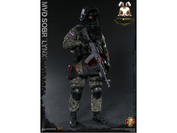 DAM Toys 1/6 78058 Russian Spetsnaz MVD SOBR LYNX_ Box Set _DM116Z