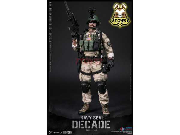 DAM Toys 1/6 78060 Decade Navy Seal 2003-2013_ Box Set _SHCC Exhibition Limited 2018 US Army DM132Z