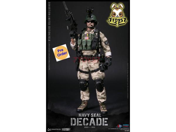 [Pre-order] DAM Toys 1/6 78060 Decade Navy Seal 2003-2013_ Box Set _SHCC Exhibition Limited 2018 US Army DM132Z