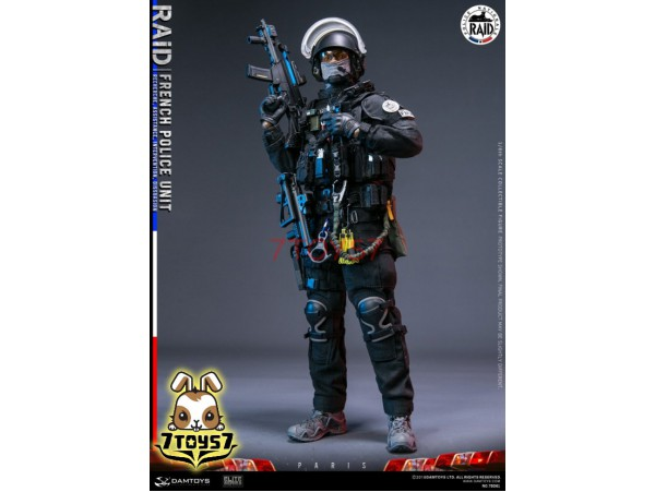 DAM Toys 1/6 78061 French Police Unit RAID in Paris_ Box Set _Modern DM200Z