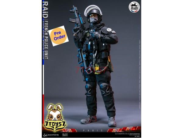 [Pre-order] DAM Toys 1/6 78061 French Police Unit RAID in Paris_ Box Set _Modern DM200Z