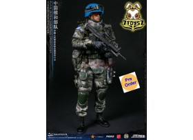 DAM Toys 1/6 78062 Chinese Peacekeeper - PLA in UN Peacekeeping Operations_ Box Set _DM134Z