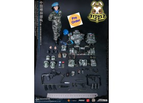[Pre-order] DAM Toys 1/6 78067 Chinese Peacekeeper PLA in UN Peacekeeping Operations: Female Soldier_ Box Set _DM149Z