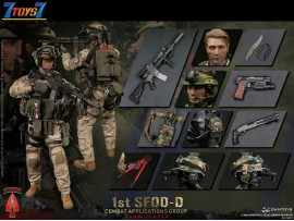 DAM Toys 1/6 78077 1st SFOD-D Combat Applications Group - Team Leader_ Box Set _DM167Z
