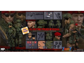 [Pre-order deposit] DAM Toys 1/6 78086 Armed Forces of the Russian Federation - Russian Military Police_ Box Set _DM193Z