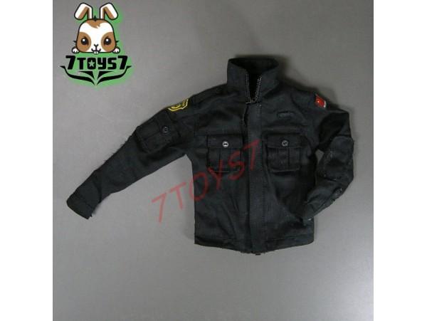 DAM Toys 1/6 78017 Chinese PAPolice Force Anti-Terrorism_BDU Coat w/badge_DM039C