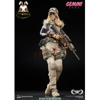 DAM Toys 1/6 DCG001 Combat Girl Series - Gemini - Zona_ Box Set _ship Now DM077Y