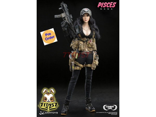 [Pre-order] DAM Toys 1/6 DCG003 Combat Girl Series - Pisces - Nana_ Box Set _DM120Y