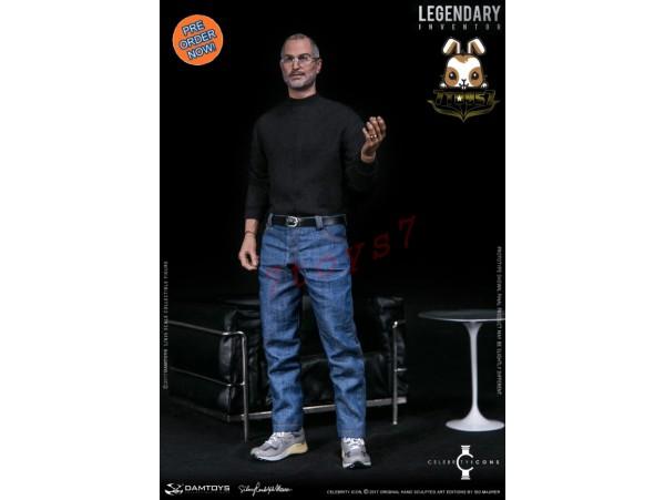[Pre-order] DAM Toys 1/6 DMS004 Legendary Inventor - Steve Jobs_ Box Set _DM103Z