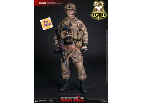 [Pre-order] DAM Toys 1/6 DMS007 Operation Red Sea - PLA Navy Marine Corps SAW Gunner_ Box _DM130Z