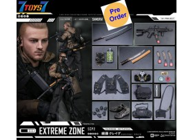 [Pre-order deposit] DAM Toys 1/6 EBS001 Extreme zone Samurai Sakifuji Craig_ Box Set _DM179Z