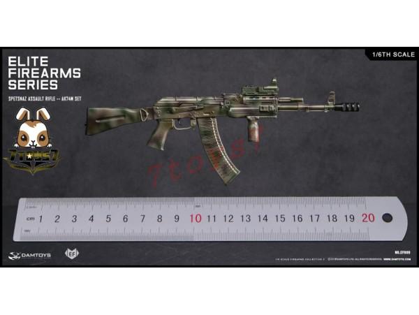 DAM Toys 1/6 EF009 Elite Firearms Series 2 Spetsnaz Assault Rifle AK74M_ Set _DM106D