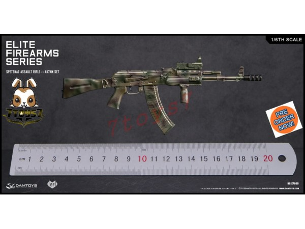 [Pre-order] DAM Toys 1/6 EF009 Elite Firearms Series 2 Spetsnaz Assault Rifle AK74M_ Set _DM106D