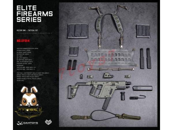 DAM Toys 1/6 EF014 Elite Firearms Series 3 Vector SMG_ Set _DM108C
