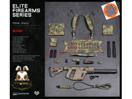 [Pre-order] DAM Toys 1/6 EF015 Elite Firearms Series 3 Vector SMG_ Set _DM108D