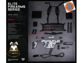 [Pre-order] DAM Toys 1/6 EF017 Elite Firearms Series 3 Vector SMG_ Set _DM108F