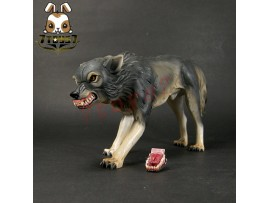 DAM Toys 1/6 Gangsters Kingdom Diamond 5_ Ghost the wolf _changable teeth DM060J