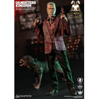 DAM Toys 1/6 GK014 Gangsters Kingdom - Heart 3 Bartley w/ dog_ Box Set _Now DM080Z