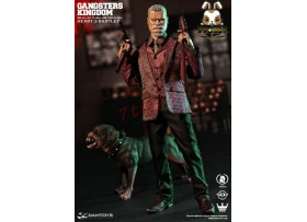 DAM Toys 1/6 GK014 Gangsters Kingdom - Heart 3 Bartley w/ dog_ Box Set _Now DM080Z