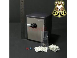 DAM Toys 1/6 GK015 Gangsters Kingdom Heart 4_ Safe + keys + U-drive + Notes _DM096J