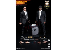 DAM Toys 1/6 GK015 Gangsters Kingdom Heart 4 - Vincent & Kerr_ Box _Now DM096Z