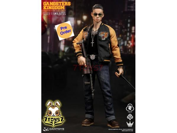 [Pre-order] DAM Toys 1/6 GK017 Gangsters Kingdom - Club 2 Van Ness_ Box Set _DM201Z