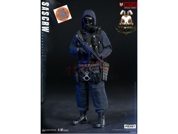 [Pre-order] DAM Toys 1/12 PES001 Pocket Elite Series: SAS CRW Assaulter_ Box Set _DM112Y