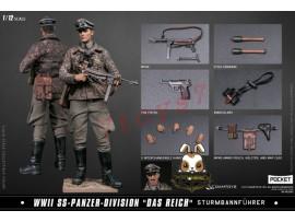 "DAM Toys 1/12 PES003 Pocket Elite Series: WWII SS-Panzer-Division ""Das Reich""_ Box Set _DM114Z"