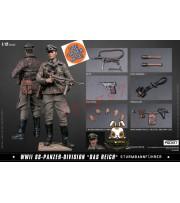 "[Pre-order] DAM Toys 1/12 PES003 Pocket Elite Series: WWII SS-Panzer-Division ""Das Reich""_ Box Set _DM114Z"