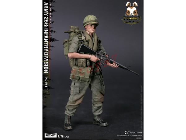 DAM Toys 1/12 PES004 Pocket Elite Series: Army 25th Infantry Division Private_ Box Set _DM114Y