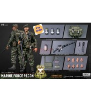 [Pre-order] Dam Toys 1/12 PES009 Pocket Elite Series - Marine Force Recon in Vietnam_ Shanghai WF2019 Exhibition Limited Box Set _DM114X