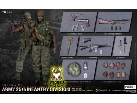 DAM Toys 1/12 Pocket Elite S: Army 25th Infantry Division - Private with M79 Grenade Launcher_ Box _DM212B