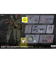[Pre-order deposit] DAM Toys 1/12 Pocket Elite S: Army 25th Infantry Division - Private with M79 Grenade Launcher_ Box _DM212B
