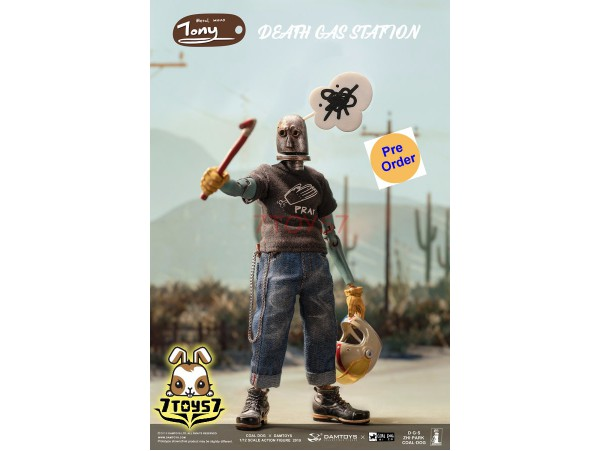 [Pre-order deposit] DAM Toys x Coal Dog 1/12 PES020 Death Gas Station series - Iron Head Tony_ Box set _DM155Z
