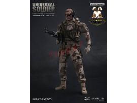 DAM x Blitzway 1/6 DMS001 Universal Soldier - Andrew Scott_ Box Set _Now DM066Z