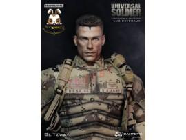 DAM x Blitzway 1/6 DMS002 Universal Soldier - Luc Deveraux_ Box Set _Now DM066Y