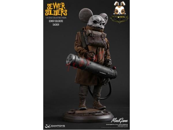 DAM Toys 1/6 ZP002 MindGame - Sewer Soldiers - Sacker_ Box Set _Now DM071Z