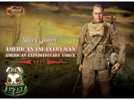 DID 1/6 A11010S Buck Jones - American Infantryman_ Special Boxset_Expedition WWI DD042Y