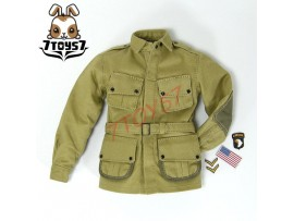 DID 1/6 A80097 101st Airborne Saving Private Ryan_ Jump Jacket w/ badges _ DD049J