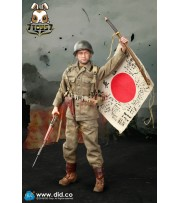 DID 1/6 A80129 WWII US Army 77th Infantry Division Captain Sam_ Box Set _DD089Z