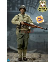 [Pre-order deposit] DID 1/6 A80140 WWII US Ranger 2nd Battalion Series 1: Private Caparzo_ Box set _DD104Z