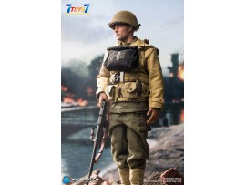 DID 1/6 A80141 WWII US 2nd Ranger Battalion - Private Reiben_ Box Set _DD108Z