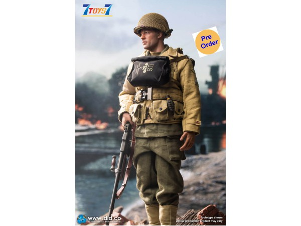 [Pre-order deposit] DID 1/6 A80141 WWII US 2nd Ranger Battalion - Private Reiben_ Box Set _DD108Z