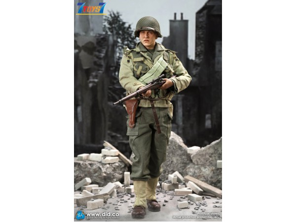 DID 1/6 A80144 WWII US 2nd Ranger Battalion Series 4 - Private Jackson_ Box Set _DD116Z