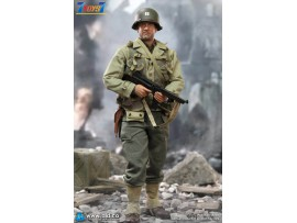 DID 1/6 A80145 WWII US 2nd Ranger Battalion Ser. 3 - Captain Miller_ Box Set _DD112Z